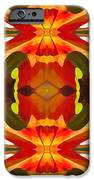 Tropical Leaf Pattern 17 iPhone Case by Amy Vangsgard