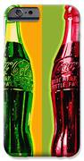 Two Coke Bottles iPhone Case by Gary Grayson