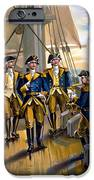 U S Navy Commander in Chief Of The Fleet iPhone Case by The Werner Company