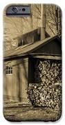 Vermont Maple Sugar Shack circa 1954 iPhone Case by Edward Fielding