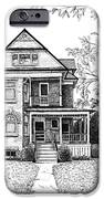 Victorian Farmhouse Pen and Ink iPhone Case by Renee Forth-Fukumoto