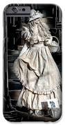 Victorian Lady iPhone Case by John Haldane