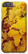Vintage World Map iPhone Case by Zaira Dzhaubaeva