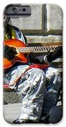 Vision of Ecstasy from Itinerant Street Musician at Bath Somerset England iPhone Case by Robert Ford