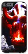 Wall Street Bull - Painterly iPhone Case by Wingsdomain Art and Photography