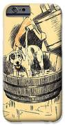 Washed By Mary - A Dog Day Collection 4 of 27 iPhone Case by Cecil Aldin
