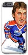 Wayne Gretzky iPhone Case by Art