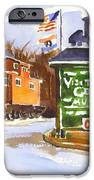 Whistle Junction in Ironton Missouri iPhone Case by Kip DeVore