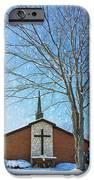 Winter Worship iPhone Case by Bill Tiepelman