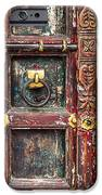 Wooden door iPhone Case by Catherine Arnas