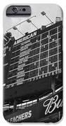Wrigley Scoreboard sans color iPhone Case by David Bearden
