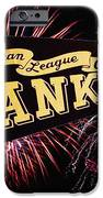 Yankees Pennant 1950 iPhone Case by Bill Cannon