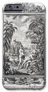 1731 Scheuchzer Creation Adam & Eve iPhone Case by Paul D Stewart