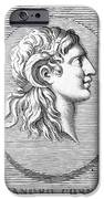 ALEXANDER THE GREAT (356-323 B.C.) iPhone Case by Granger