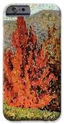 Autumn Landscape iPhone Case by Henri-Edmond Cross