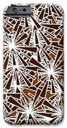 Brown Abstract iPhone Case by Frank Tschakert