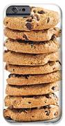 Chocolate chip cookies iPhone Case by Elena Elisseeva