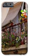 Flowery balcony iPhone Case by Carlos Caetano