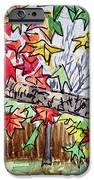 Maple Tree Sketchbook Project Down My Street iPhone Case by Irina Sztukowski