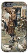 NEW ENGLAND: QUAKER, 1660 iPhone Case by Granger