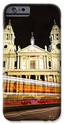 St. Paul's Cathedral in London at night iPhone Case by Elena Elisseeva