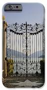 The gateway to Lago di Lugano iPhone Case by Joana Kruse