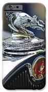 1931 American Austin Roadster Hood Ornament iPhone Case by Jill Reger