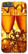 Romantic holiday celebration iPhone Case by Anna Omelchenko