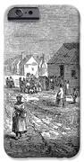 FREEDMENS VILLAGE, 1866 iPhone Case by Granger