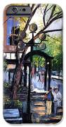 A Saturday Stroll  iPhone Case by Anthony Falbo