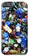 Abstract - colored glass characters iPhone Case by Paul Ward