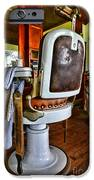 Barber - Barber Chair iPhone Case by Paul Ward