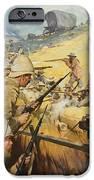 Boer War Skirmish iPhone Case by James Edwin McConnell