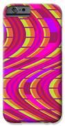 Bold Swirl  iPhone Case by Louisa Knight