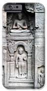 buddha carvings at ajanta caves iPhone Case by Sumit Mehndiratta