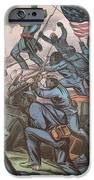 Charge Of The 54th Massachusetts iPhone Case by Photo Researchers