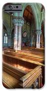 Church Benches iPhone Case by Adrian Evans