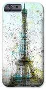City-Art PARIS Eiffel Tower II iPhone Case by Melanie Viola