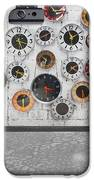 clocks on the wall iPhone Case by Setsiri Silapasuwanchai