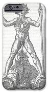 Colossus Of Rhodes, 16th Century Artwork iPhone Case by Middle Temple Library