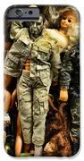 Doll - GI Joe in Camo iPhone Case by Paul Ward