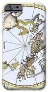 Durer's Celestial Globe, 1515 iPhone Case by Sheila Terry