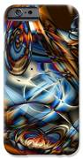 Electric Blue iPhone Case by Ron Bissett