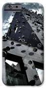 Fachada con los Ojos - Barcelona iPhone Case by Juergen Weiss