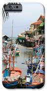 fishing boats iPhone Case by Adrian Evans
