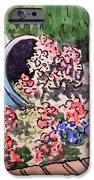 Flower Bed Sketchbook Project Down My Street iPhone Case by Irina Sztukowski