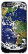 Full Earth Showing The Western iPhone Case by Stocktrek Images