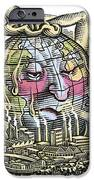 Global Warming, Conceptual Image iPhone Case by Bill Sanderson