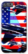 God Bless America Land Of The Free 2 iPhone Case by Wingsdomain Art and Photography