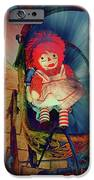 Happy Dolly iPhone Case by Susanne Van Hulst